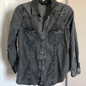 Light weight jean shirt